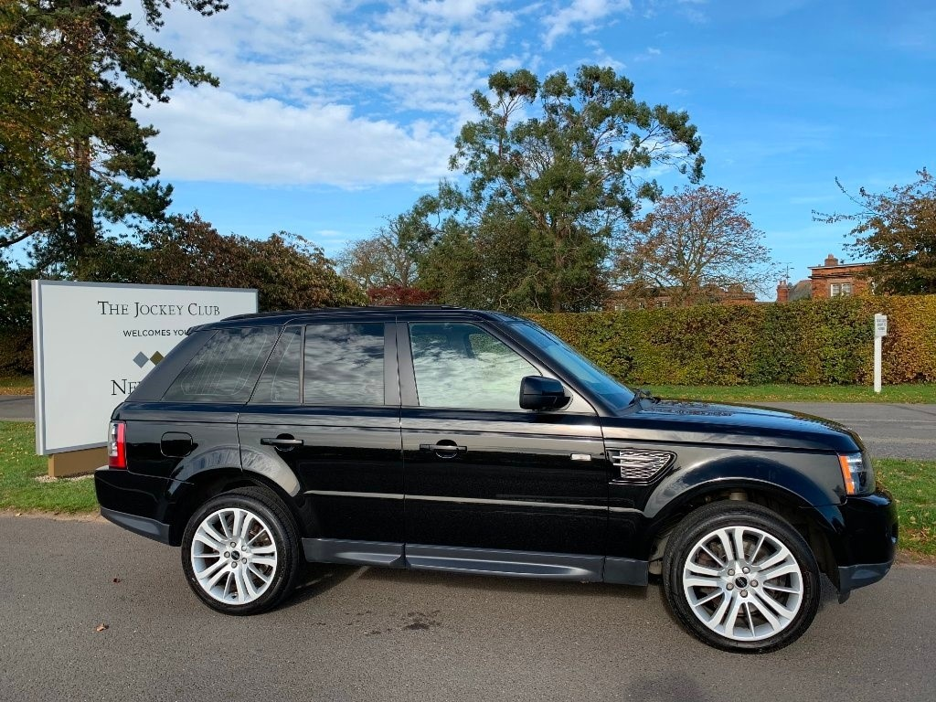used Land Rover Range Rover Sport SD V6 HSE (Luxury Pack) 4X4 5dr in newmarket-suffolk