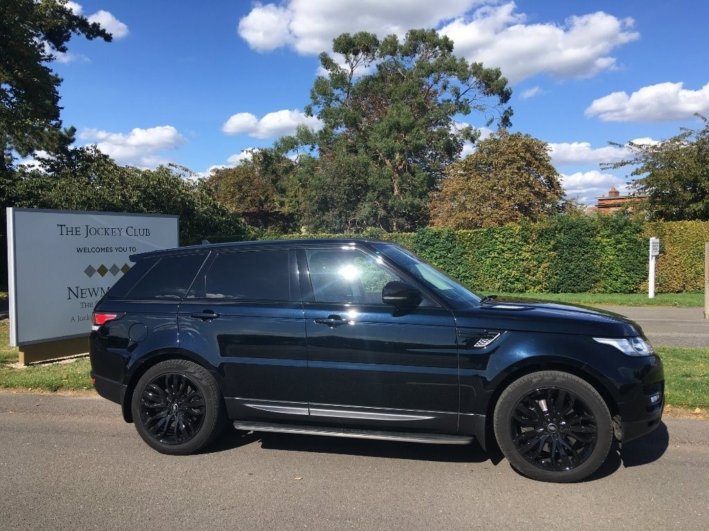 used Land Rover Range Rover Sport SD V6 HSE 4X4 (s/s) 5dr in newmarket-suffolk