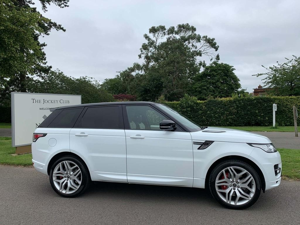 used Land Rover Range Rover Sport SD V6 Autobiography Dynamic 4X4 (s/s) 5dr in newmarket-suffolk