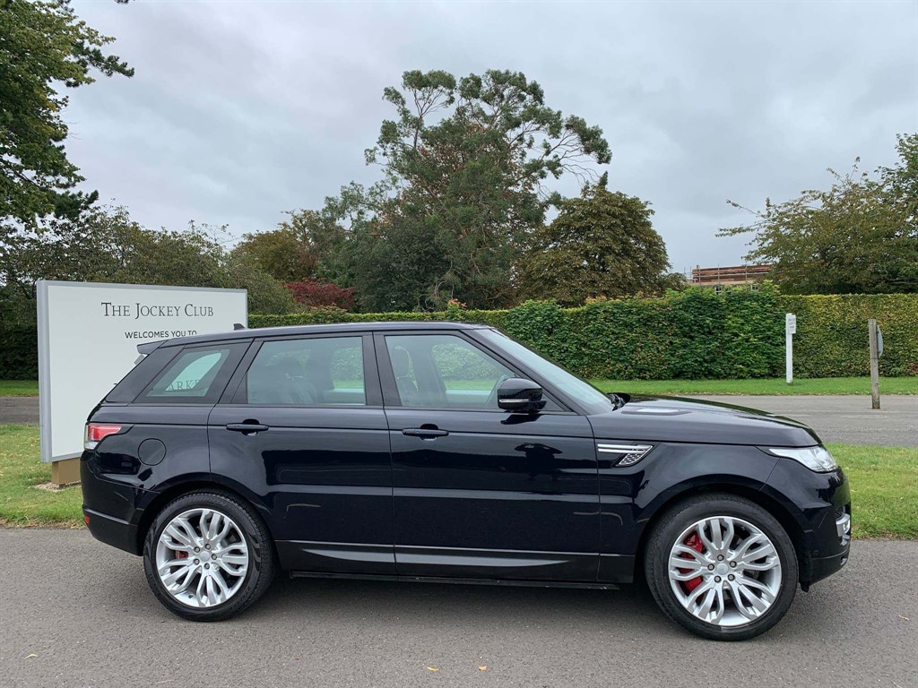 used Land Rover Range Rover Sport SD V6 HSE 4X4 (s/s) in newmarket-suffolk