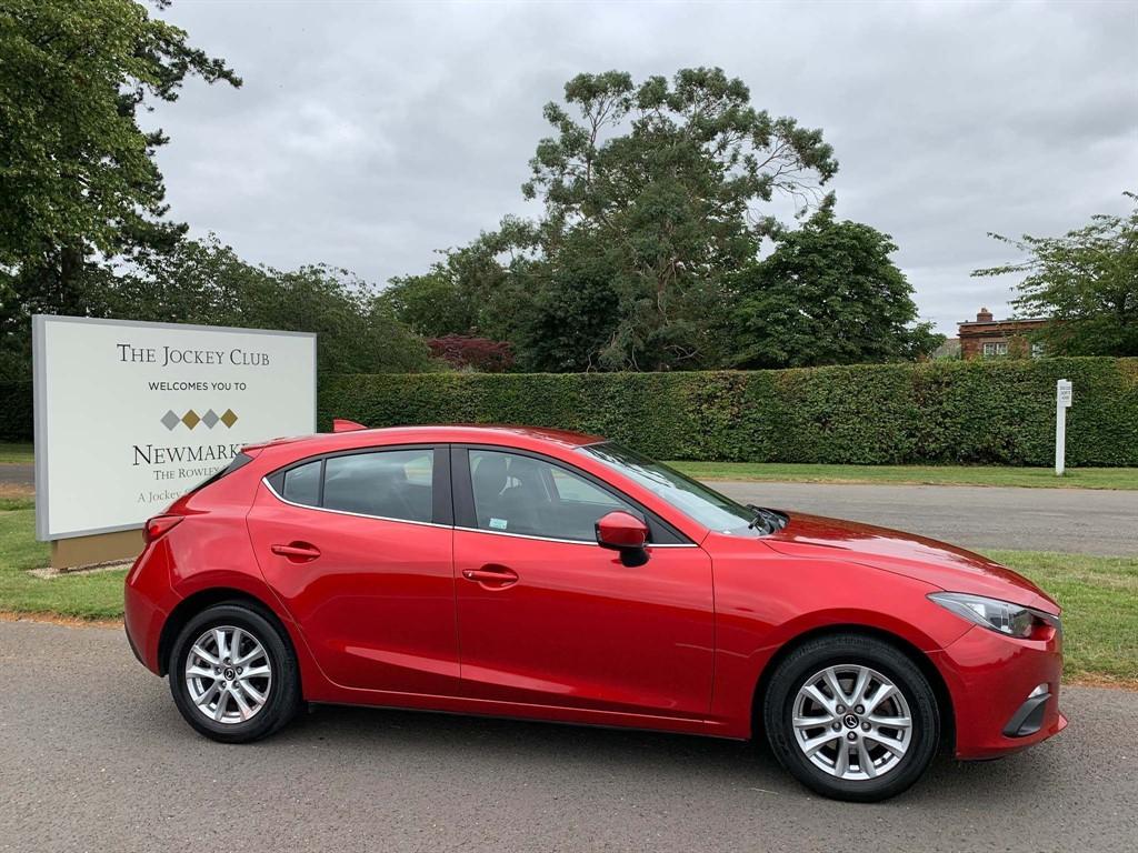 used Mazda Mazda3 SKYACTIV-G SE Nav 5dr in newmarket-suffolk