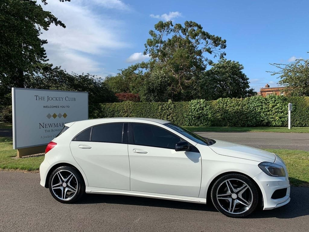 used Mercedes A180 CDI A Class BlueEFFICIENCY AMG Sport 7G-DCT 5dr in newmarket-suffolk