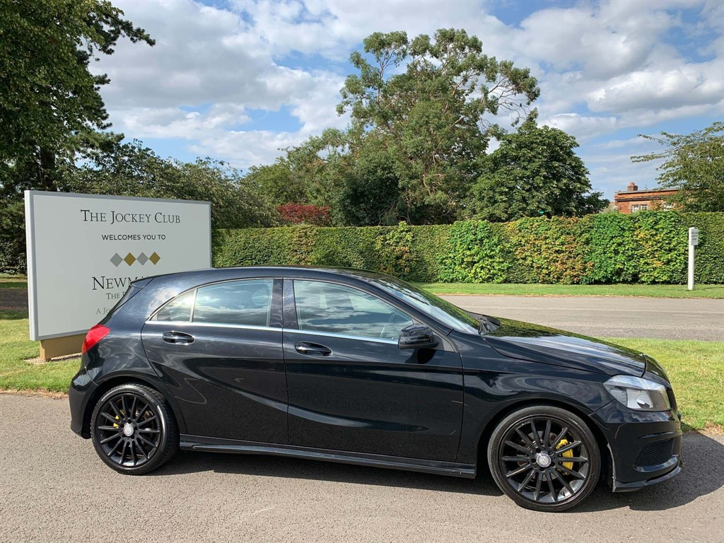 used Mercedes A180 CDI A Class AMG Sport 7G-DCT 5dr in newmarket-suffolk