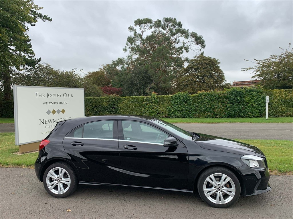 used Mercedes A180d Sport (Executive) 7G-DCT (s/s) in newmarket-suffolk