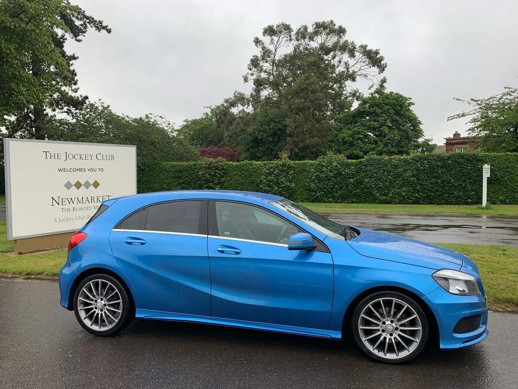 used Mercedes A200 A Class CDI AMG Sport 7G-DCT 5dr in newmarket-suffolk