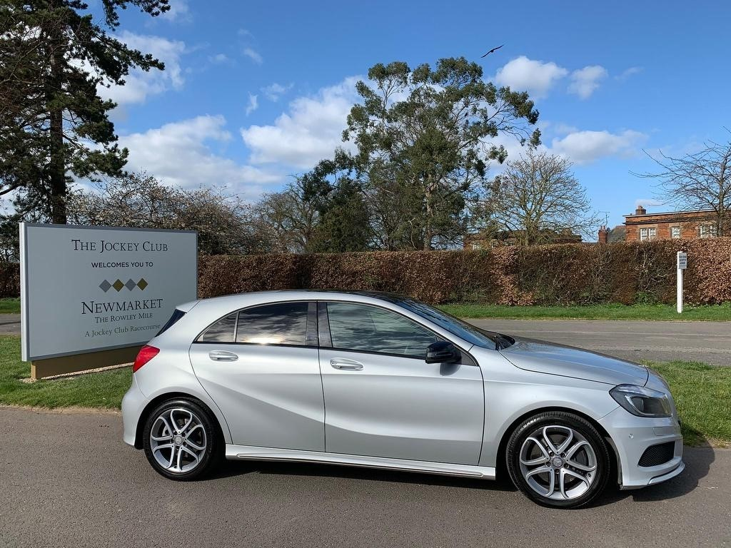 used Mercedes A220 A Class CDI BlueEFFICIENCY AMG Sport 7G-DCT 5dr in newmarket-suffolk