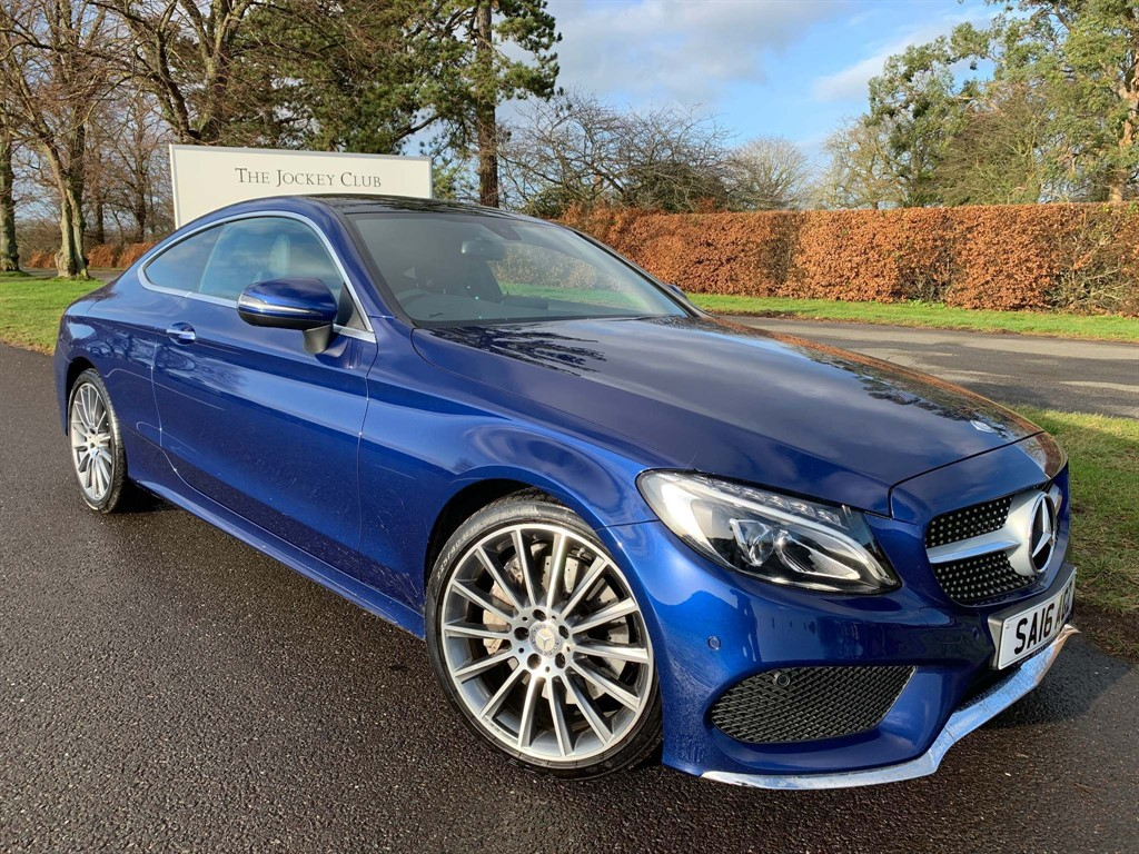 used Mercedes C200 C Class AMG Line (Premium) 7G-Tronic+ (s/s) 2dr in newmarket-suffolk
