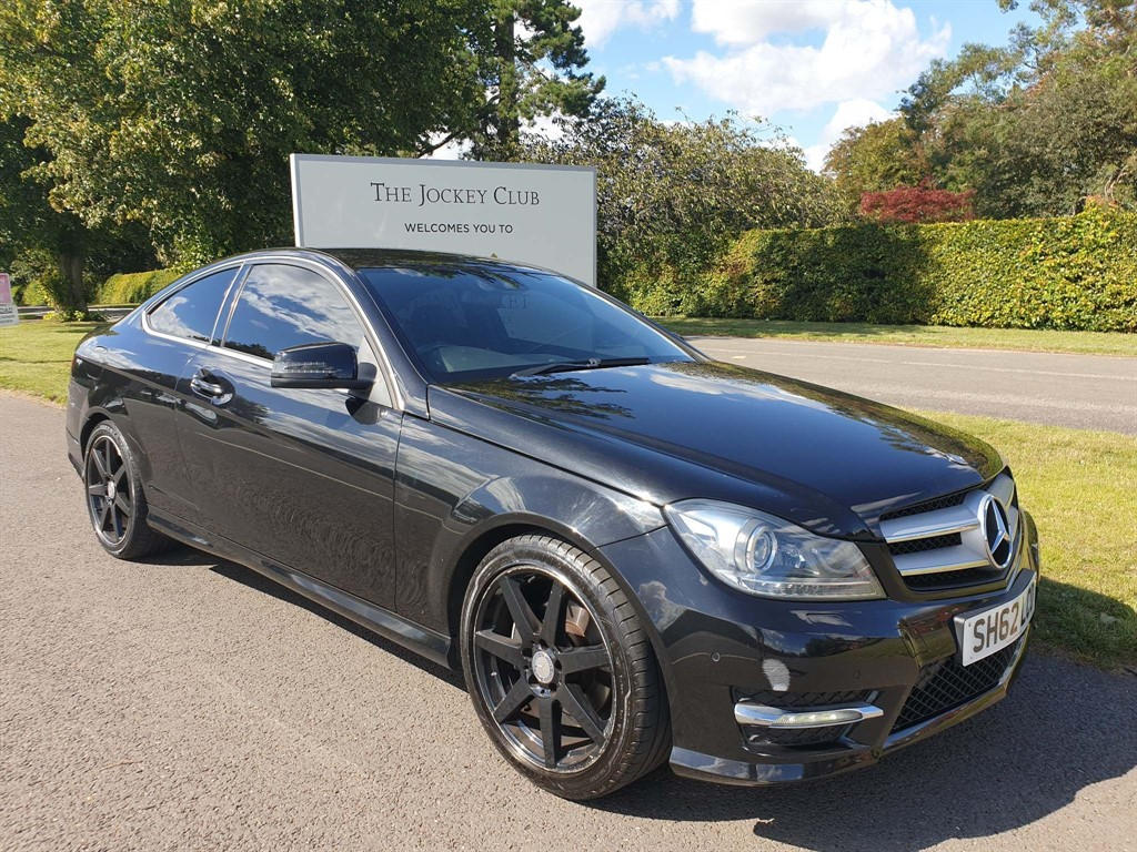 used Mercedes C220 CDI BlueEFFICIENCY AMG Sport Plus 7G-Tronic Plus in newmarket-suffolk
