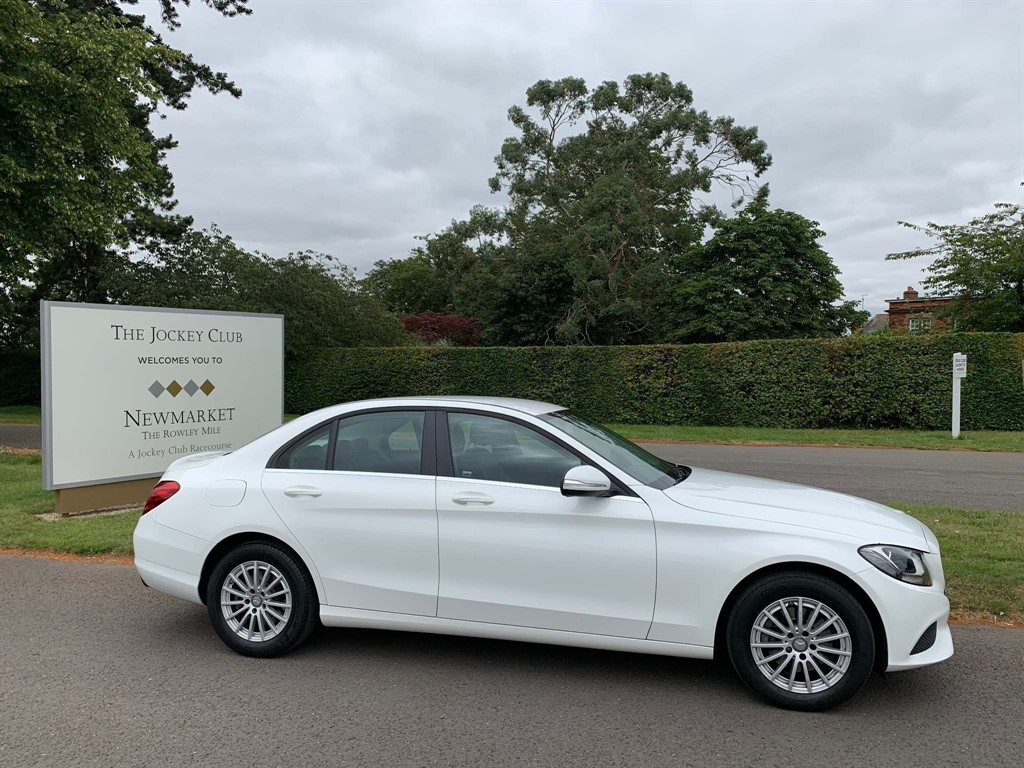 used Mercedes C220 C Class CDI BlueTEC SE G-Tronic+ (s/s) 4dr in newmarket-suffolk