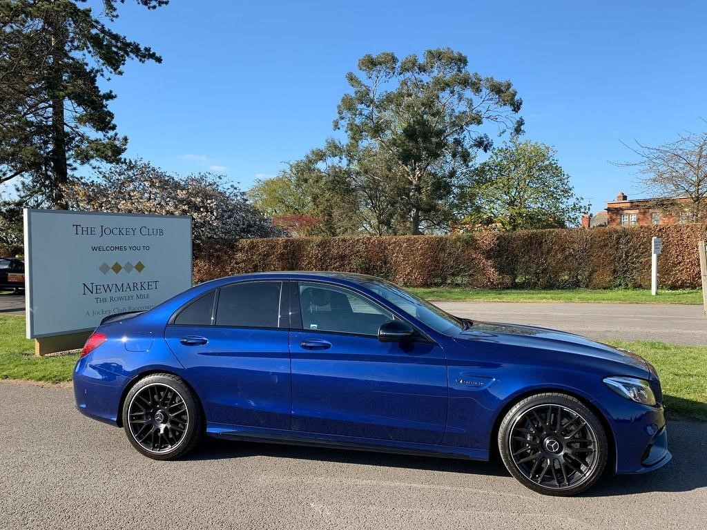 used Mercedes C63 AMG C Class (Premium) Speedshift MCT (s/s) 4dr in newmarket-suffolk