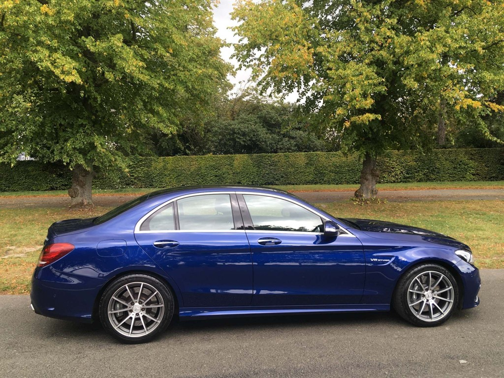 used Mercedes C63 AMG C Class V8 BiTurbo AMG (Premium) SpdS MCT (s/s) 4dr in newmarket-suffolk