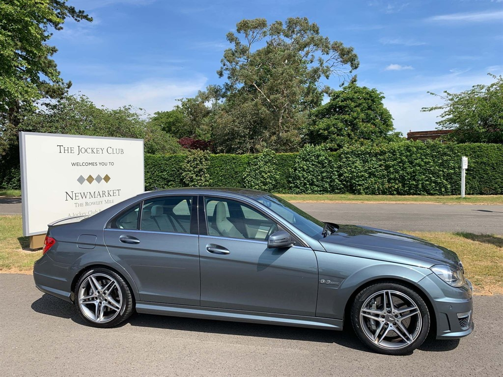 used Mercedes C63 AMG 6.3 MCT 7S in newmarket-suffolk