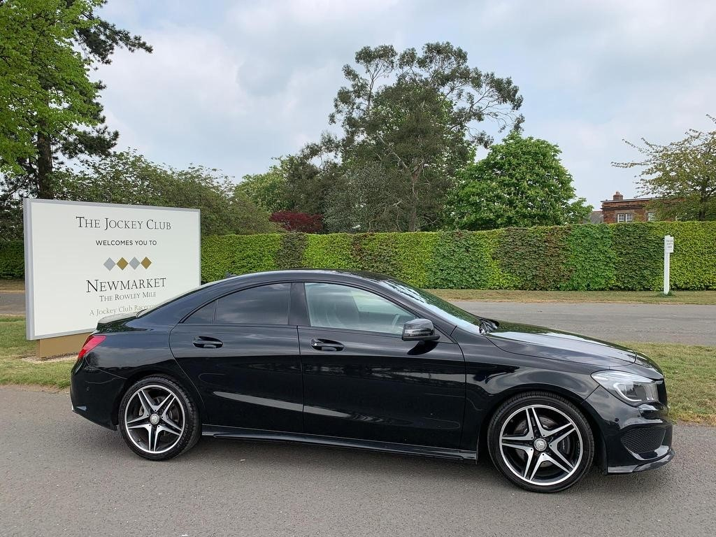 used Mercedes CLA 220 CLA Class CDI AMG Sport 7G-DCT (s/s) 4dr in newmarket-suffolk
