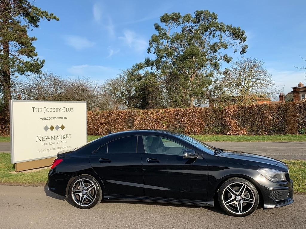 used Mercedes CLA200 CDI CLA Class AMG Sport 7G-DCT 4dr in newmarket-suffolk