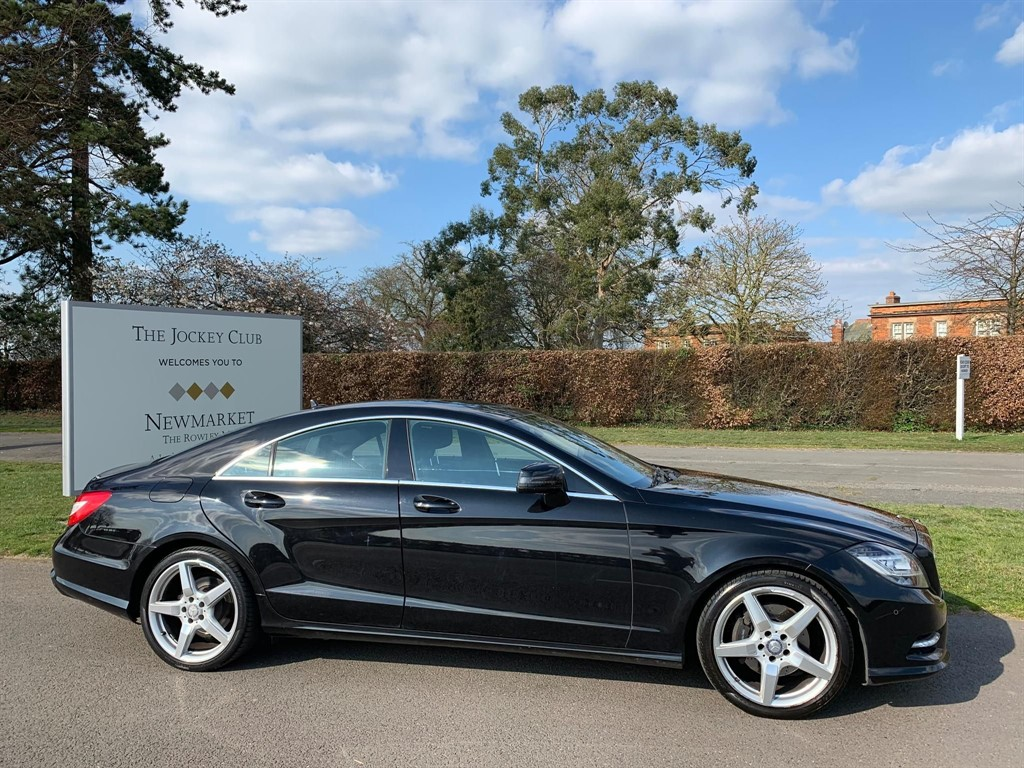 used Mercedes CLS CLS250 CDI BlueEFFICIENCY AMG Sport 7G-Tronic Plus 4dr in newmarket-suffolk