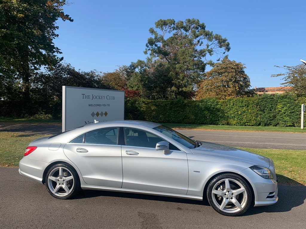 used Mercedes CLS350 CDI BlueEFFICIENCY AMG Sport 7G-Tronic Plus in newmarket-suffolk