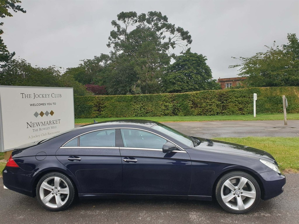 used Mercedes CLS500 7G-Tronic in newmarket-suffolk