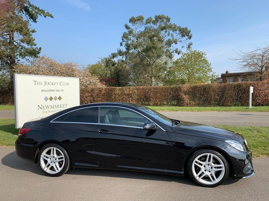 used Mercedes E220 E Class CDI AMG Sport 7G-Tronic Plus 2dr in newmarket-suffolk