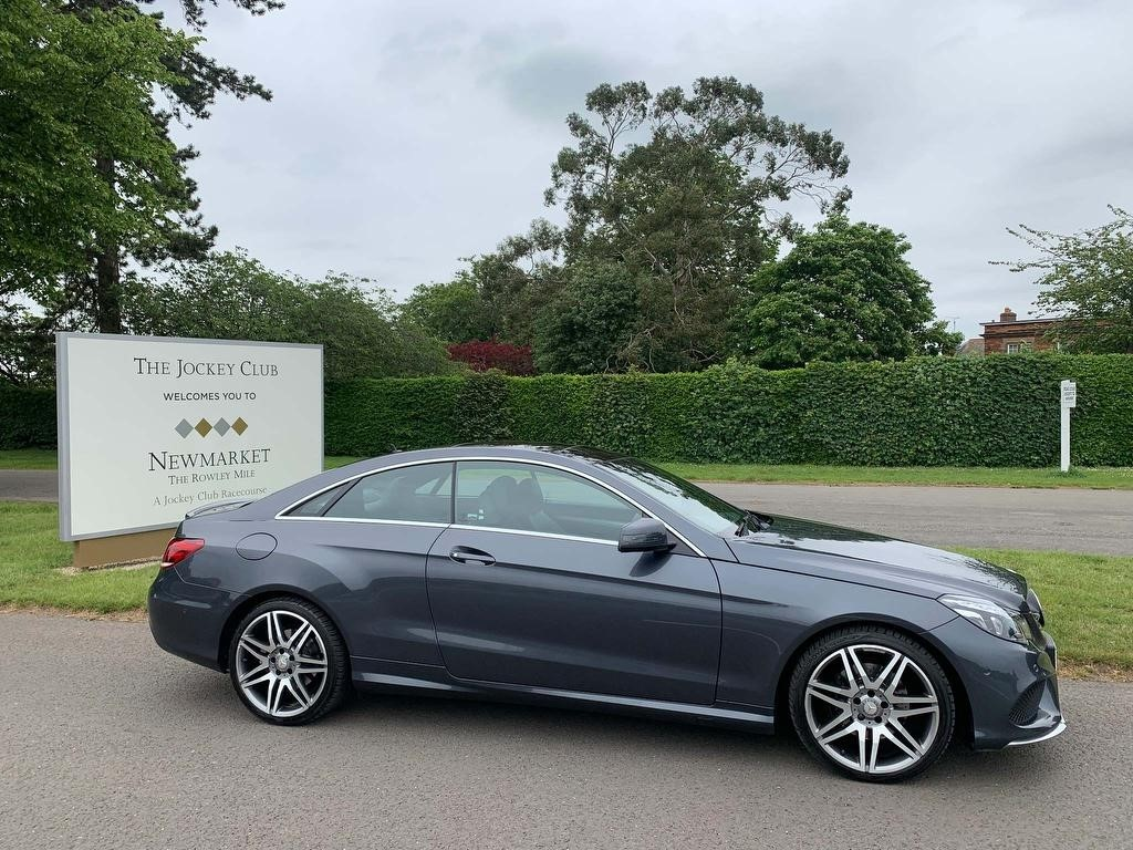 used Mercedes E350 E Class AMG Line Edition 7G-Tronic Plus (s/s) 2dr in newmarket-suffolk