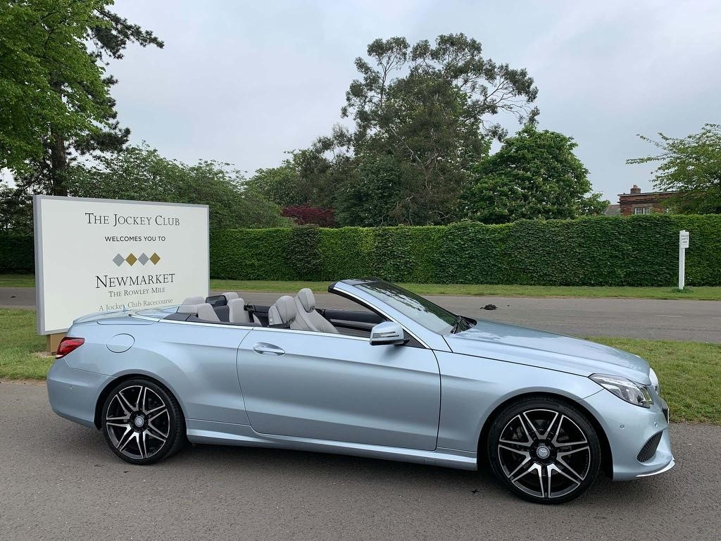used Mercedes E400 E Class AMG Sport Cabriolet 7G-Tronic Plus 2dr in newmarket-suffolk
