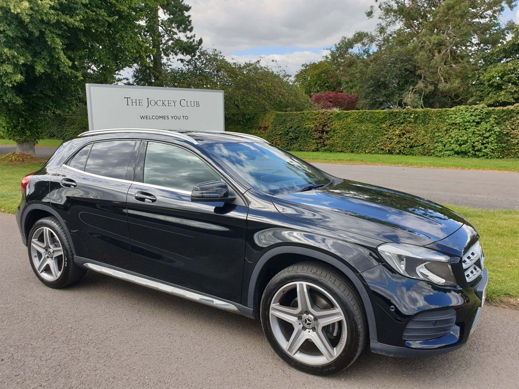 used Mercedes GLA220 AMG Line 7G-DCT 4MATIC (s/s) in newmarket-suffolk