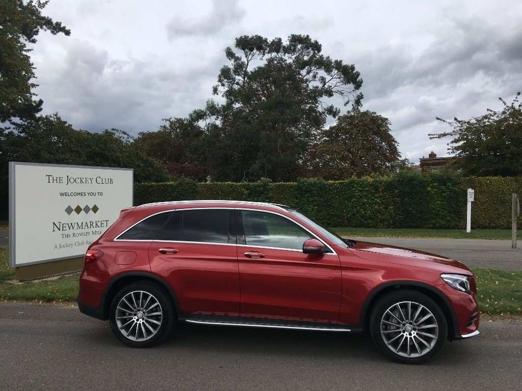 used Mercedes GLC Class GLC250d AMG Line 4MATIC (s/s) 5dr in newmarket-suffolk