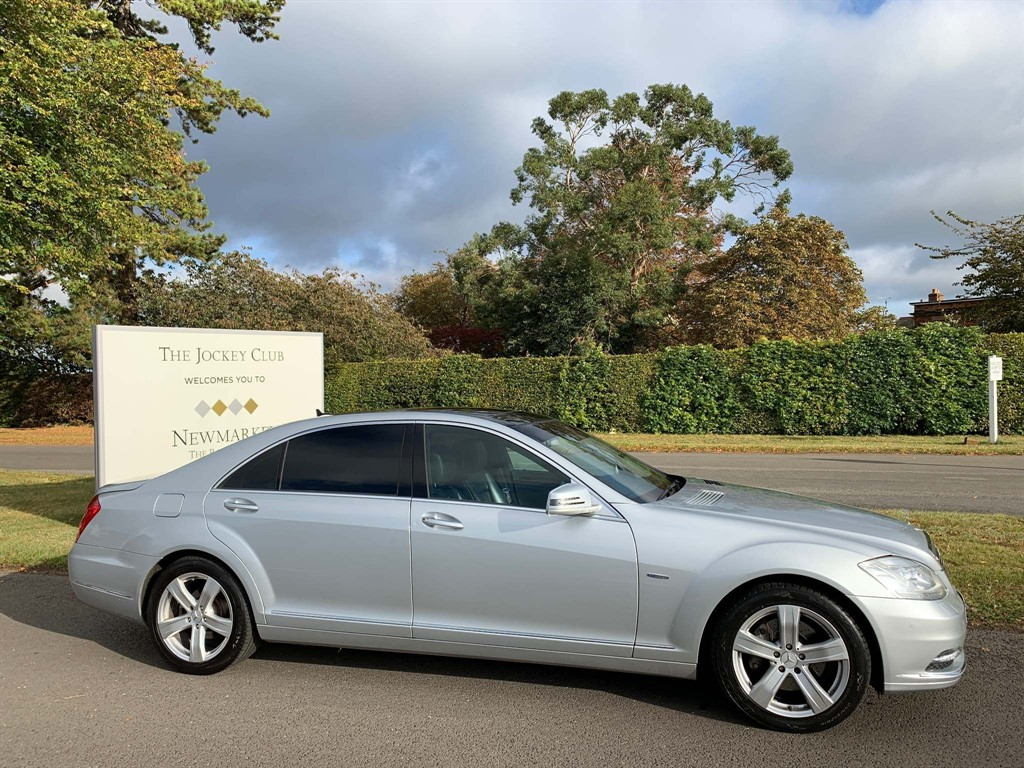 used Mercedes S350 S Class CDI BlueTEC L 7G-Tronic Plus 4dr in newmarket-suffolk