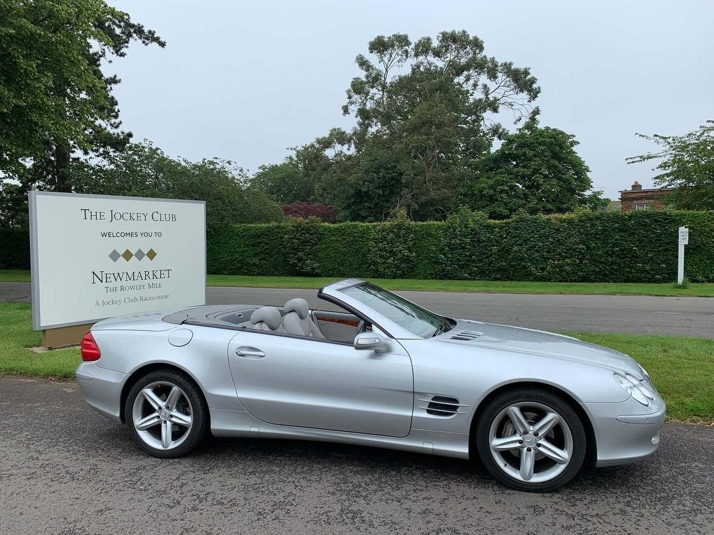 used Mercedes SL Class SL350 2dr in newmarket-suffolk