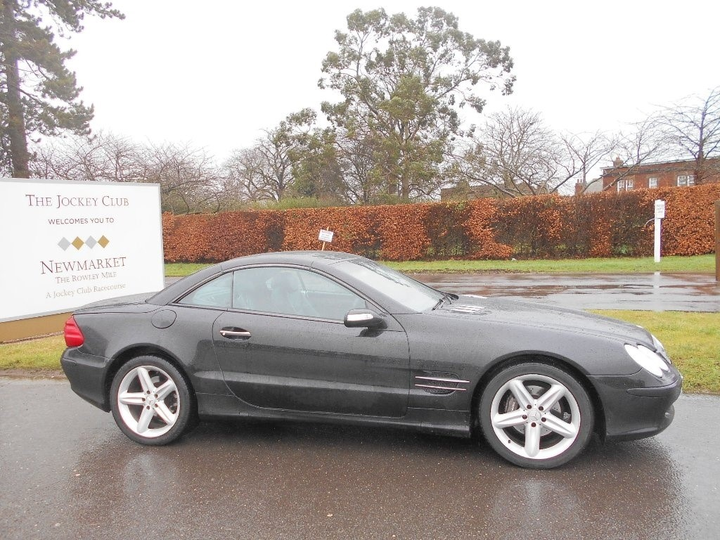 used Mercedes SL350  in newmarket-suffolk