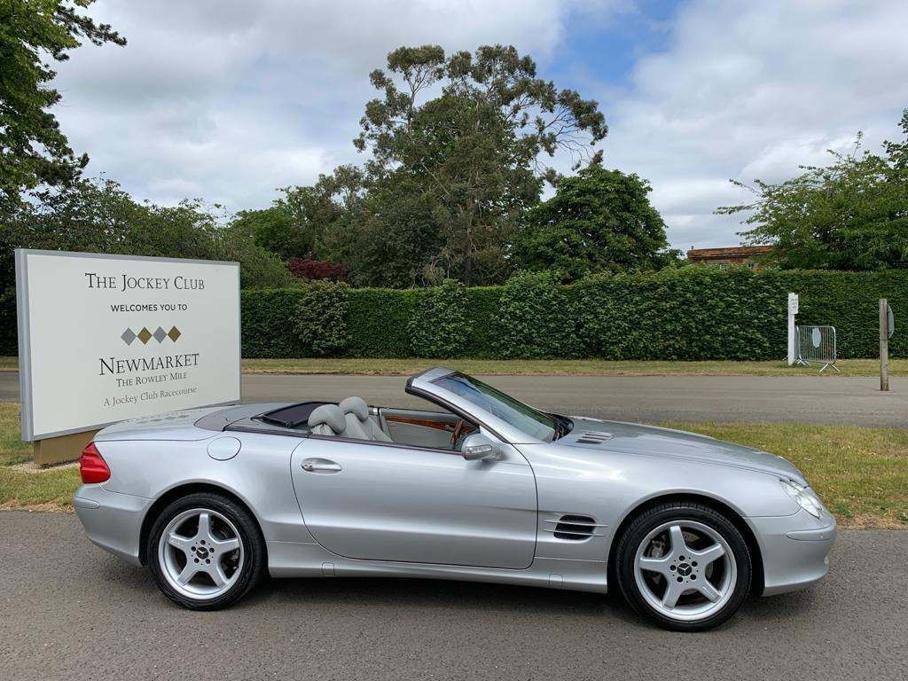 used Mercedes SL500  in newmarket-suffolk