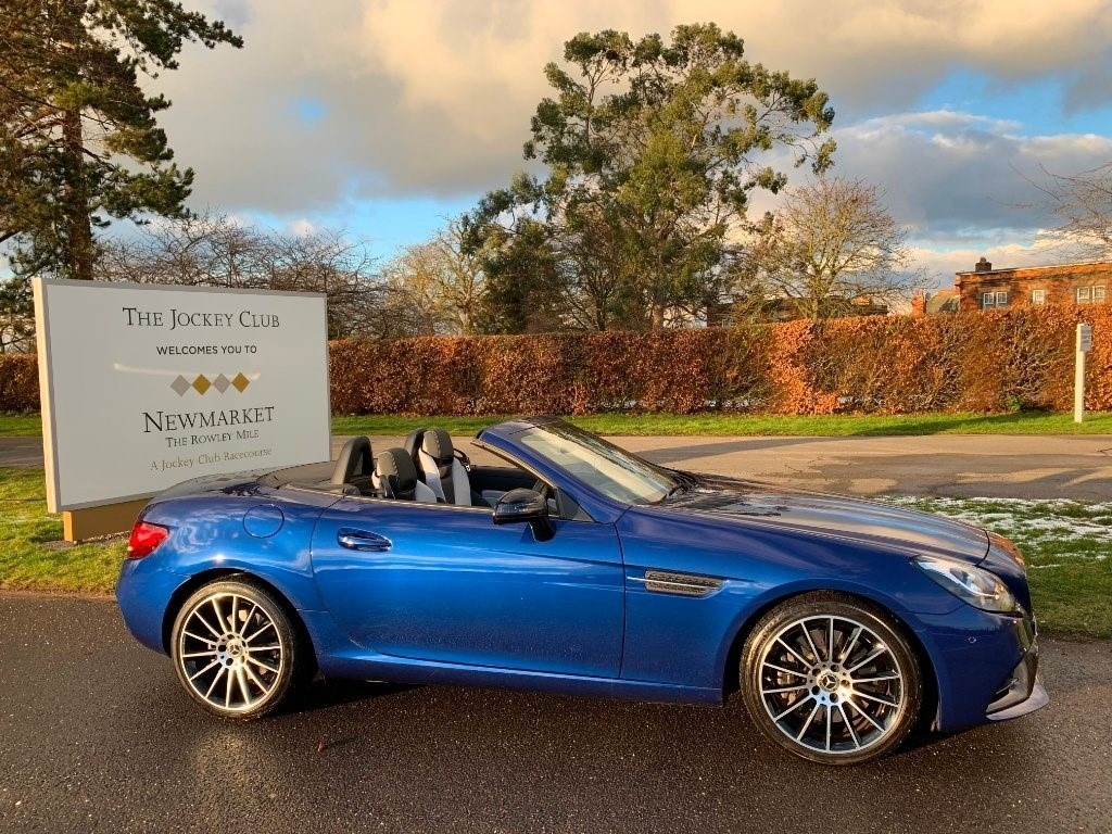used Mercedes SLC300 SLC AMG Line Cabriolet 9G-Tronic (s/s) 2dr in newmarket-suffolk