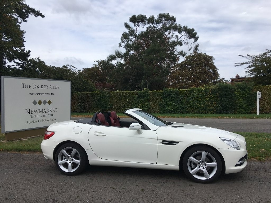 used Mercedes SLK SLK200 BlueEFFICIENCY 7G-Tronic Plus (s/s) 2dr in newmarket-suffolk