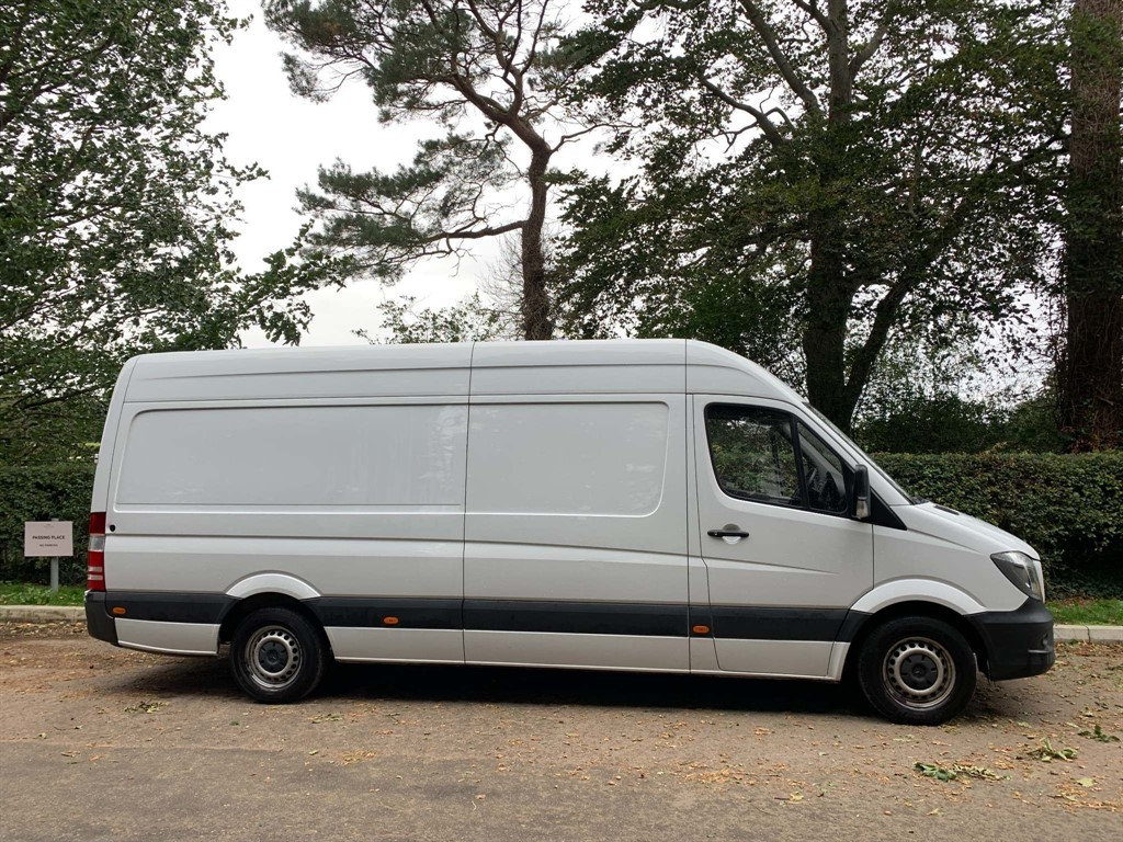 used Mercedes Sprinter CDI 313 Extra High Roof Panel Van (LWB) in newmarket-suffolk