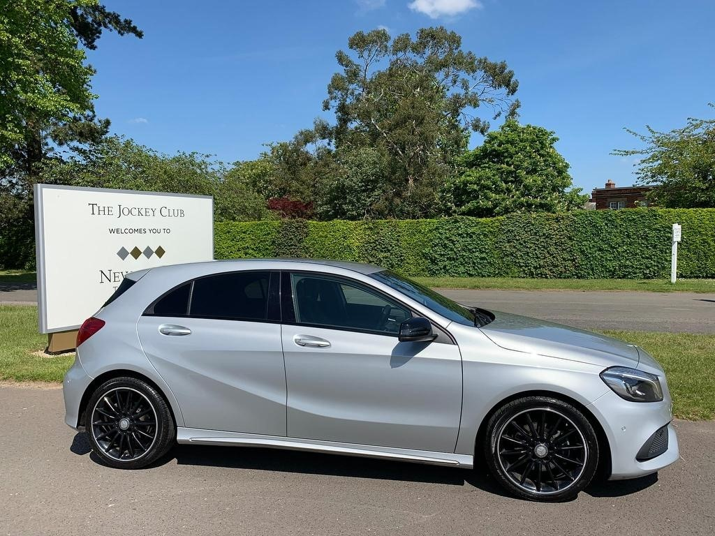 used Mercedes  A Class A200d AMG Line (Premium) 7G-DCT (s/s) 5dr in newmarket-suffolk