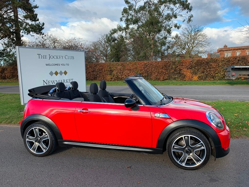 used MINI Convertible Cooper S 2dr in newmarket-suffolk