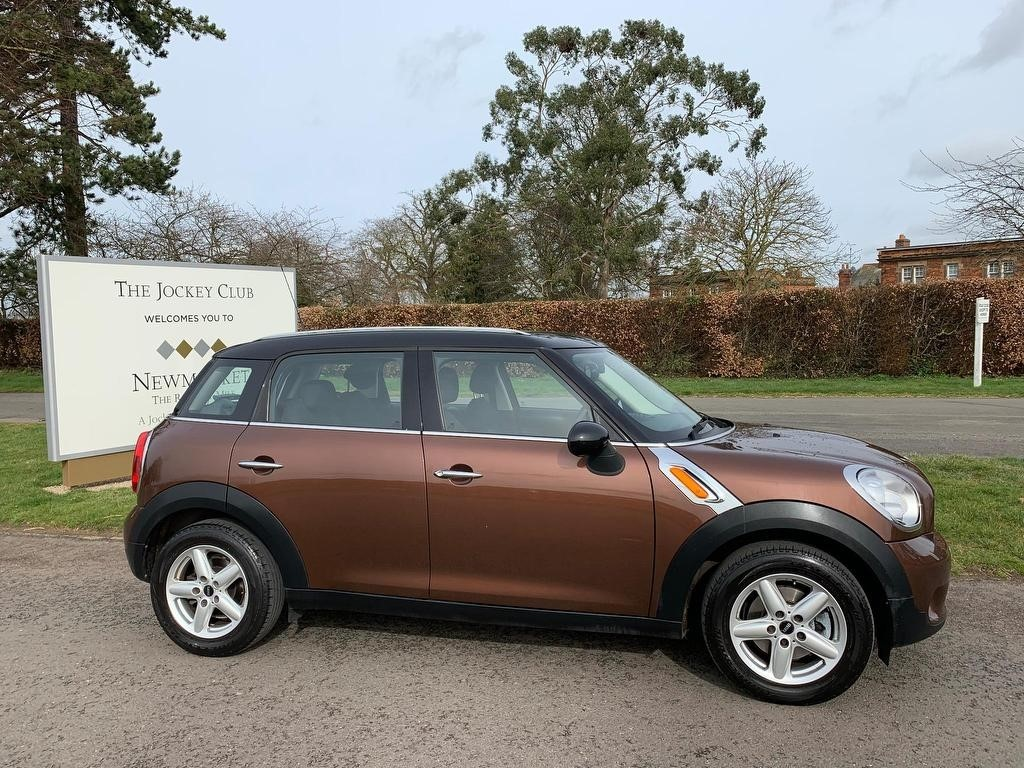 used MINI Countryman Cooper (Pepper) ALL4 5dr in newmarket-suffolk