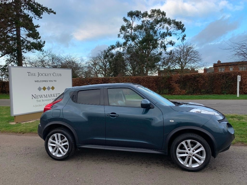 used Nissan Juke dCi Tekna 5dr in newmarket-suffolk