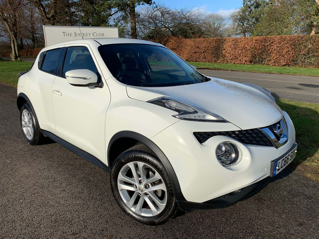 used Nissan Juke N-Connecta XTRON 5dr in newmarket-suffolk