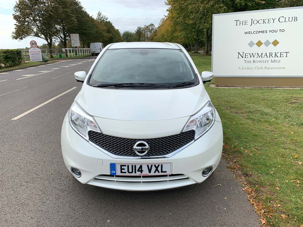 used Nissan Note DIG-S Tekna (Comfort Pack) CVT in newmarket-suffolk