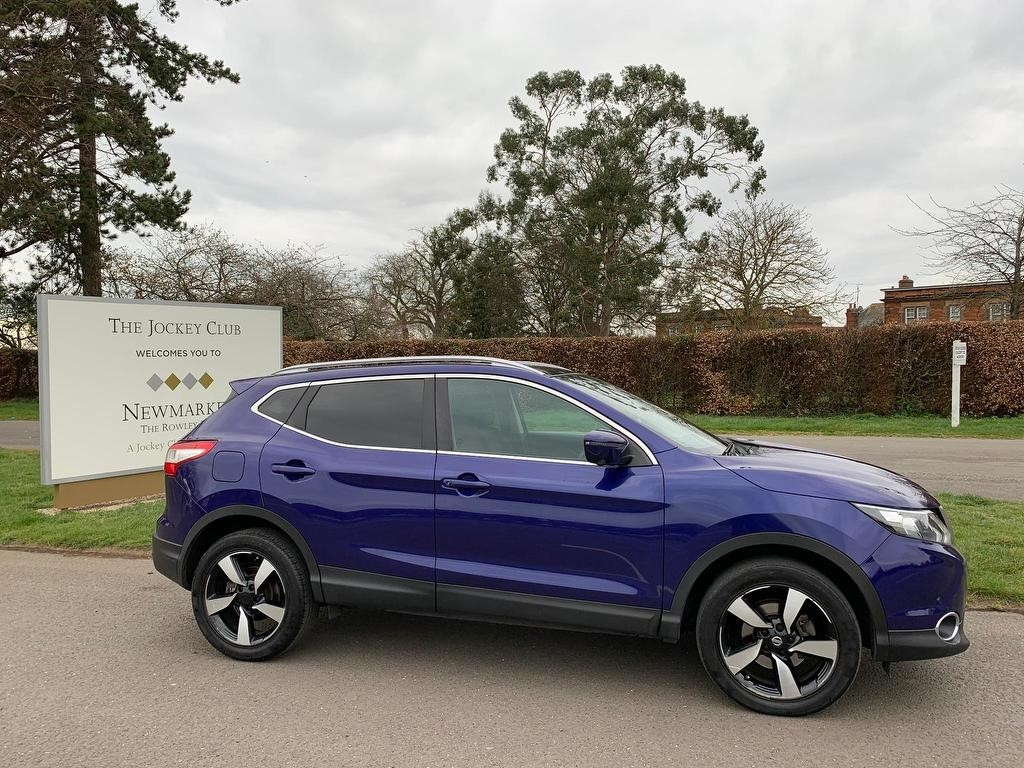 used Nissan Qashqai dCi N-Connecta Xtronic CVT 5dr in newmarket-suffolk