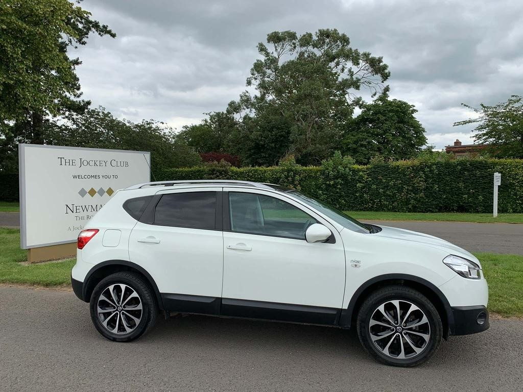 used Nissan Qashqai dCi n-tec 4WD 5dr in newmarket-suffolk