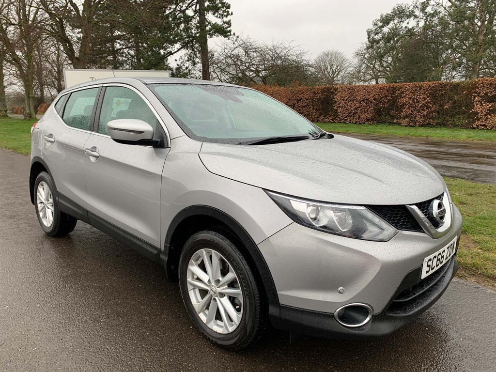used Nissan Qashqai Acenta (Smart Vision & Tech Packs) in newmarket-suffolk
