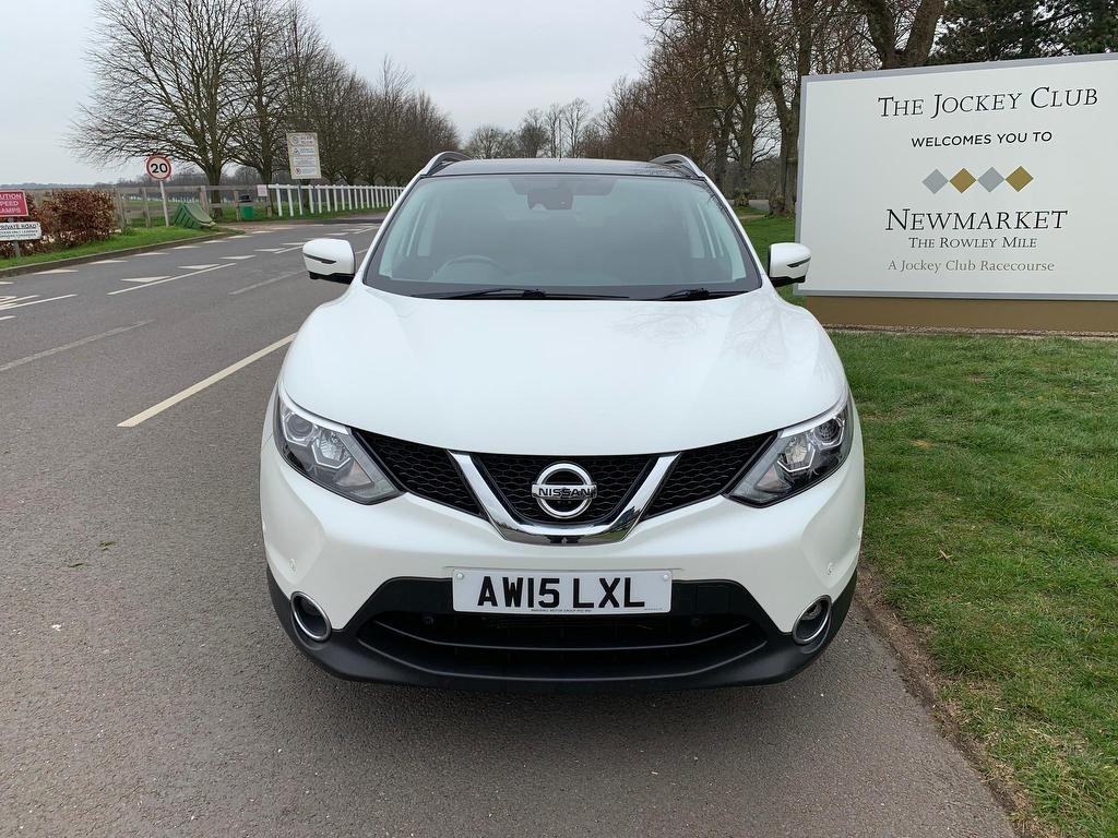 used Nissan Qashqai DIG-T Tekna 5dr in newmarket-suffolk