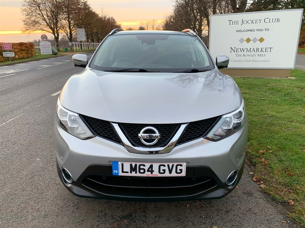 used Nissan Qashqai DIG-T n-tec+ 5dr in newmarket-suffolk