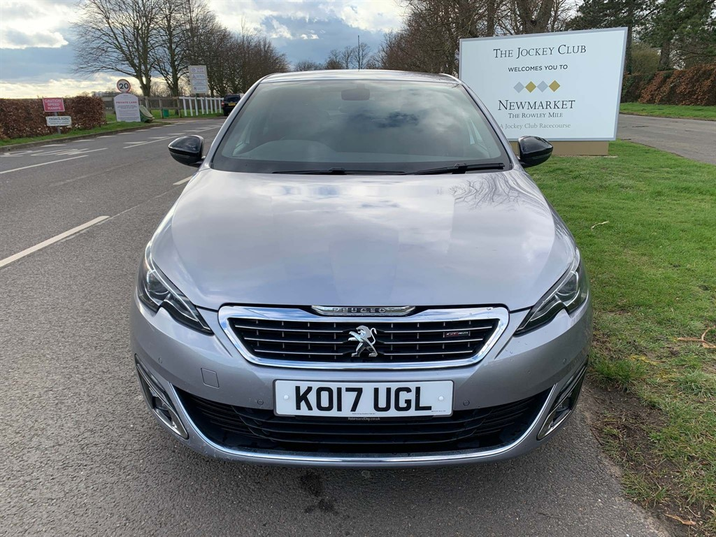 used Peugeot 308 BlueHDi GT Line EAT6 (s/s) in newmarket-suffolk