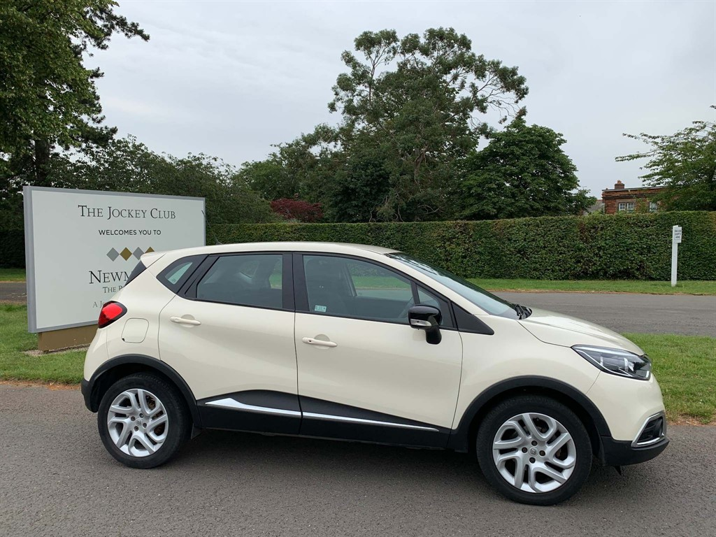 used Renault Captur ENERGY Dynamique Nav (s/s) in newmarket-suffolk
