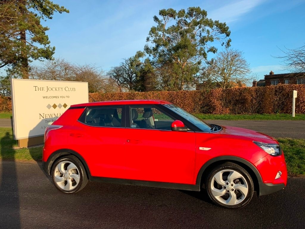 used Ssangyong Tivoli EX 2WD (s/s) 5dr in newmarket-suffolk