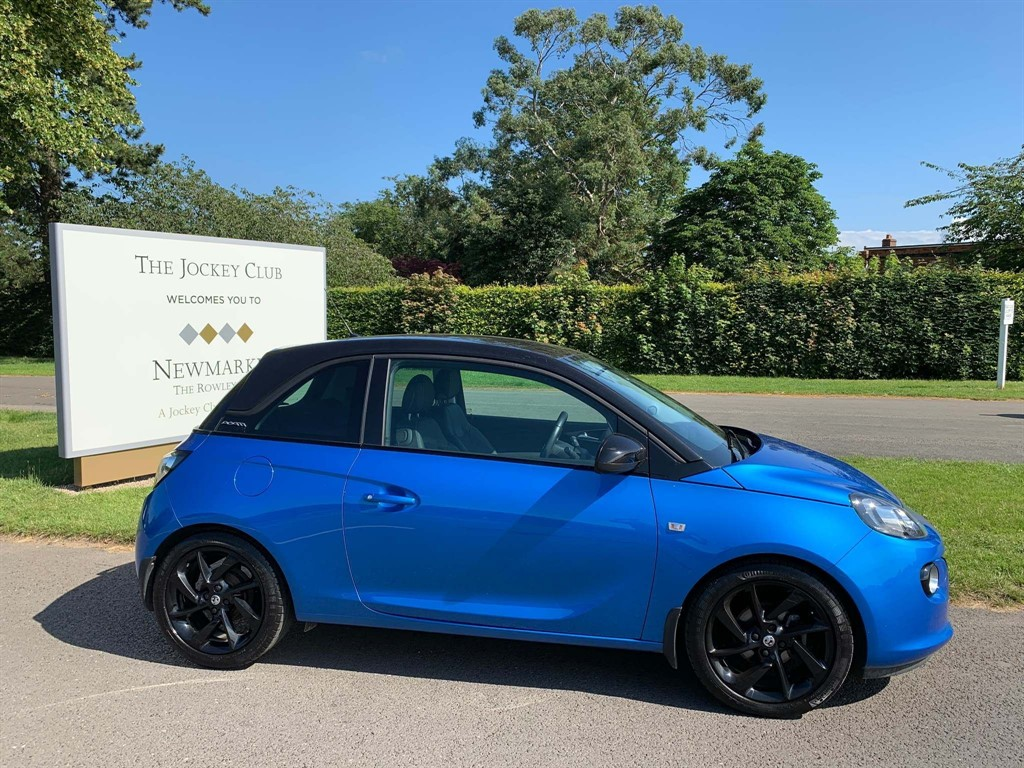 used Vauxhall Adam 1.2 i VVT 16v ENERGISED Hatchback 3dr in newmarket-suffolk