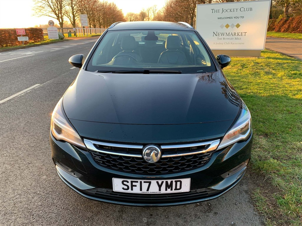 used Vauxhall Astra CDTi Elite Nav Sports Tourer Auto 5dr in newmarket-suffolk
