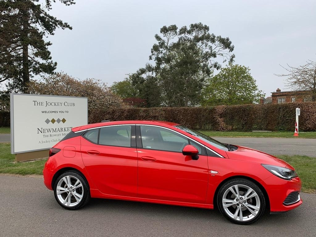 used Vauxhall Astra i Turbo 16v SRi VX Line 5dr in newmarket-suffolk